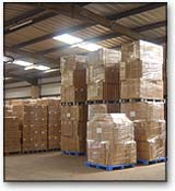 EuroXpress Storage facilities for pallets or container storage or selfstore facilities we will move your items or belongings to which ever storage facilities you require.